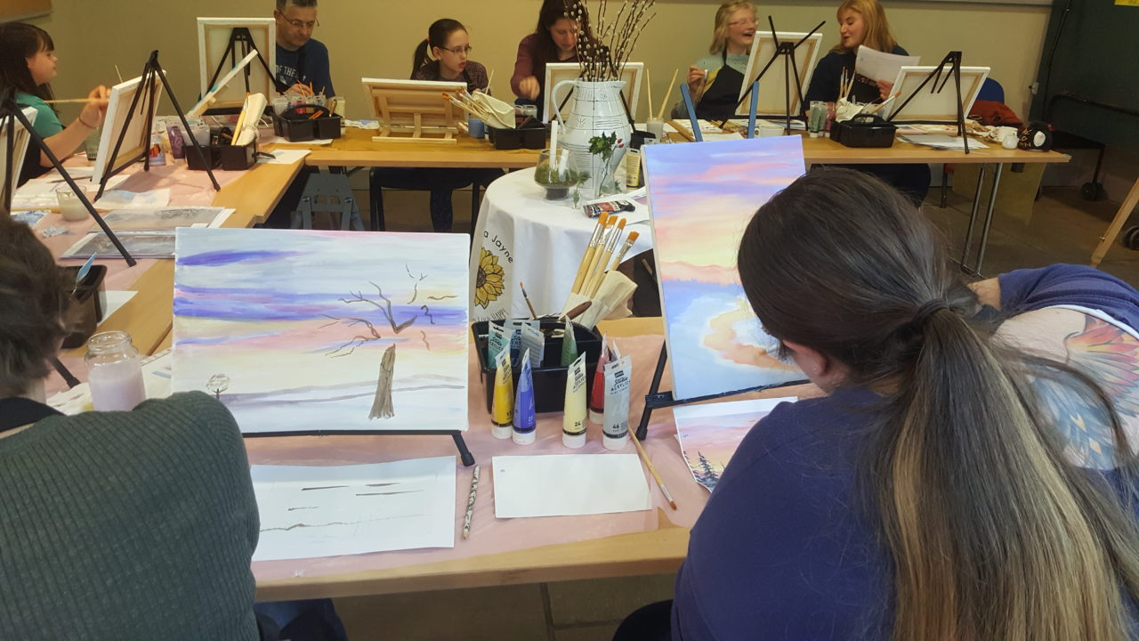 February Family Friendly Painting Workshops near Thirsk