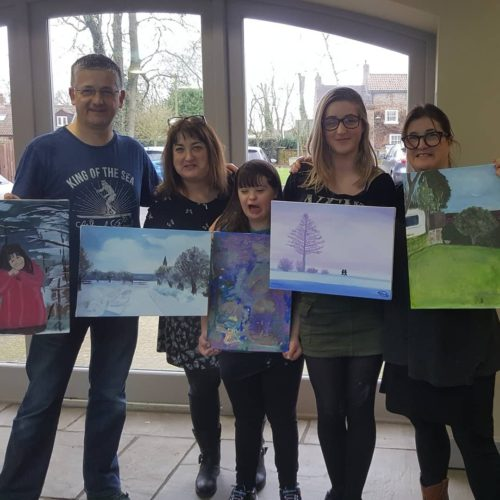 Acrylic Painting Family Friendly Workshops