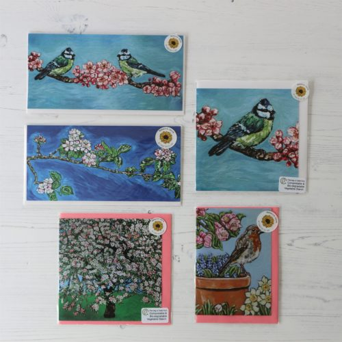 Packs of Greeting Cards