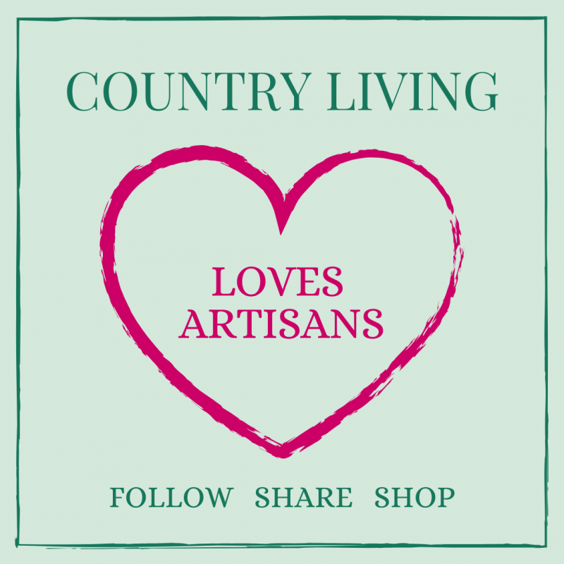 20% off in my shop this weekend as part of the Country Living UK Pop up Artisan Market!