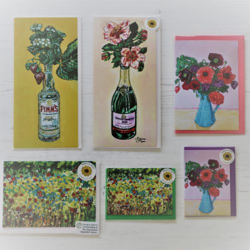 Sets of Mixed sized Cards