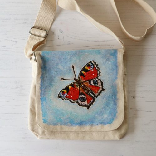 Handpainted Canvas Bag