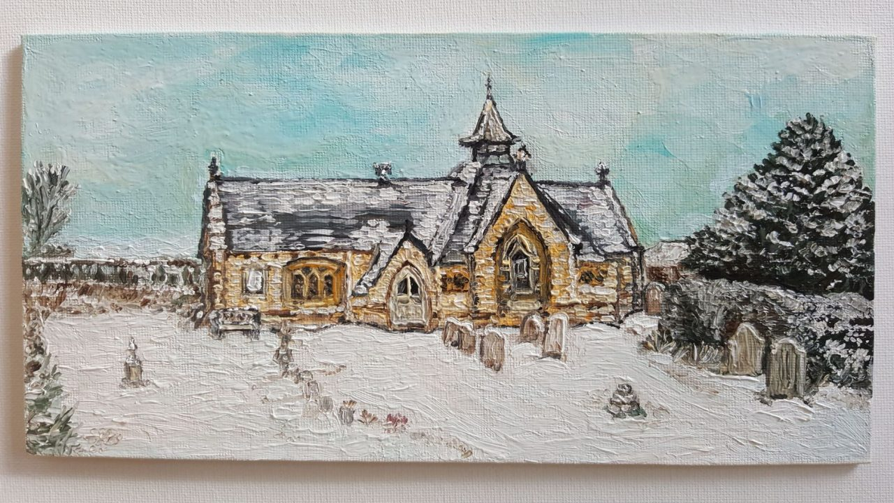 New! Winter Home Commission plus Christmas cards.