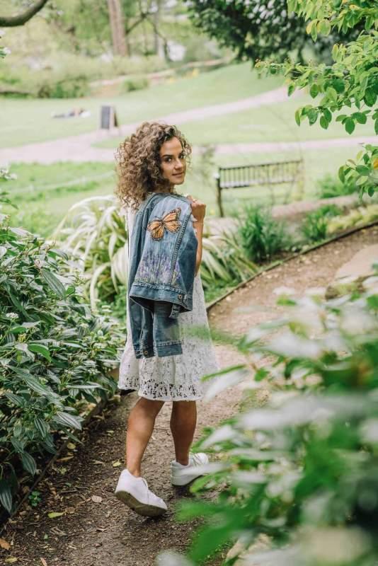 Introducing My new Artisan Fashion- Handpainted Joyful wearable art